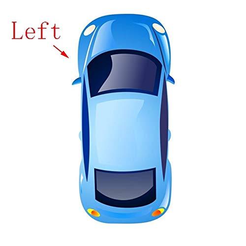 Ysli. Auto Sun Shield con Espejo de Vidrio Left Driver Side Visor Sunvisor for to/Yota Corolla 2003 2004 2005 2006 2007 2008-2012 (Color : Left)