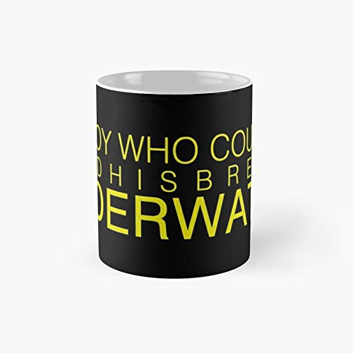 The Boy Who Couldn't Hold His Breath Under Water Classic Mug Birth-day Holi-day Gift Drink Home Kitchen