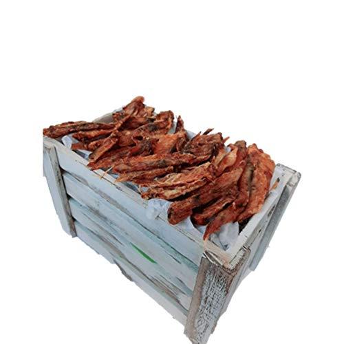 ALPHA SPIRIT Snack Natural para Perros - Alitas de Ave deshidratadas - 200 grs 20 Unidades Aproximadamente | ANIMALUJOS