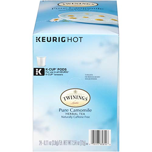 Twinings of London Pure Camomile Tea K-Cups for Keurig, 24 Count