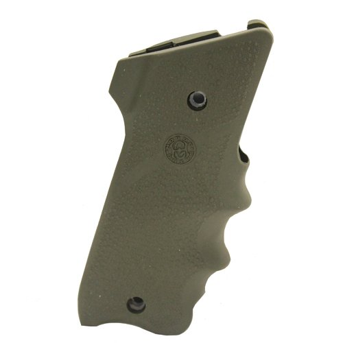 Hogue 82001 Ruger MK II/III Rubber Grip with Finger Grooves