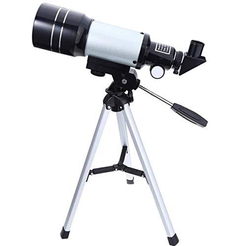 LYDF Finder Mirror - Telescopio astronómico HD de alta potencia con trípode ajustable, monocular de gran calibre para observación de estrellas y luna