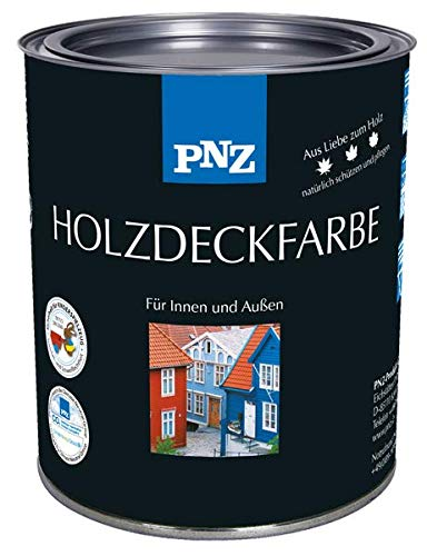 PNZ Holzdeckfarbe, Gebinde:2.5L, Farbe:steingrau