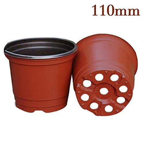 Kicode contenitori Indoor Garden Nursery pianta Hanging Basket Planter Vaso di Fiori Plastica
