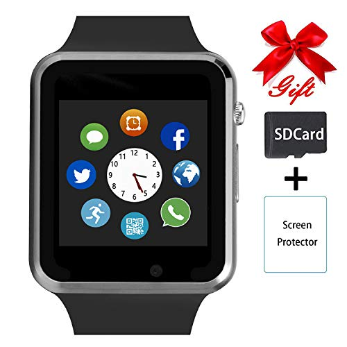 Smart Watch,Unlocked Touchscreen Smartwatch Compatible with...