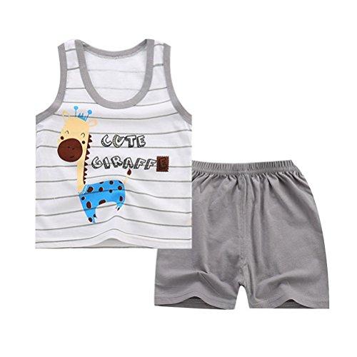 Odziezet Camiseta Bebé Verano Niño Niña Chaleco