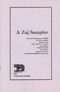 A ZAJ SAMPLER (A Great Bear Pamphlet). Works by...