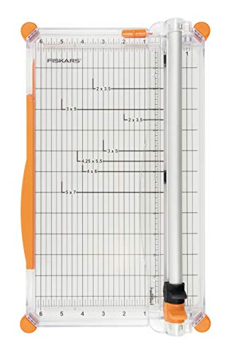 Fiskars Personal SureCut Plus Paper Trimmer 30 cm - A4, With Cutting Line...