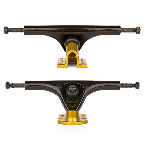 Paris V2 180 mm 50° Longboard Achsen Black/Gold - 2 STK - Allround Longboard Achsen
