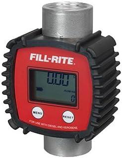 Fill-Rite FR1118A10 3-26 GPM In-line Digital Flow Meter, Aluminum