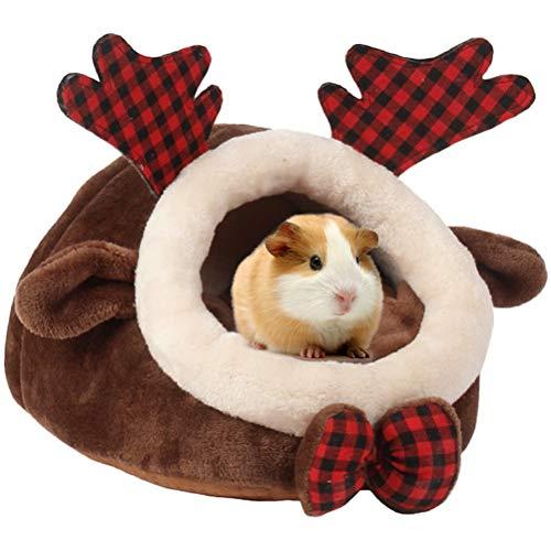 FGHJG Casa para Mascotas, Conejillos de Indias, Chihuahua, Hurones, hámsteres, erizos, Conejos, Ratas holandesas, Cama de Animales pequeños súper cálida