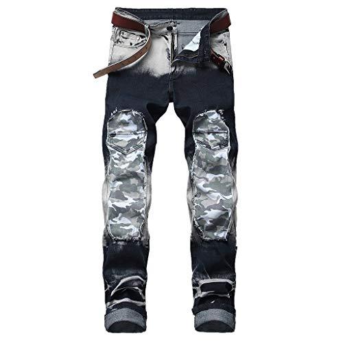 ITISME Damen Skinny Jeans Denim Frauen Leggings Skinny Jeans mit hoher Taille Denim Stretchy Pencil Pants Skinny Jeanshose Röhrenjeans Sweatpants S - XL
