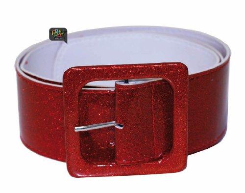 Party Pro- Ceinture, Unisexe Adulte, 865090405, Rouge