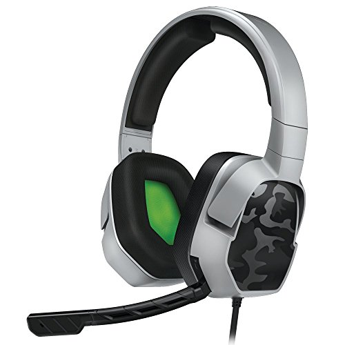 PDP Xbox One LVL 3 Stereo Gaming Headset 048-041-NA-YCAM, Grey Camo