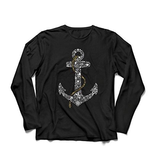 lepni.me Camiseta de hombre salada marinero ancla, marinero marinero, ropa de vela y yate