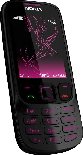 Nokia 6303 Classic (Bluetooth, MP3, 3,2 MP) illuvial pink Collection Handy