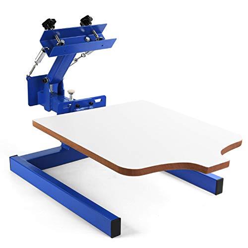 CGOLDENWALL - Kit de impresión de serigrafía (55 x 45 mm, para camiseta, ropa, bolsa, cristal, plástico)