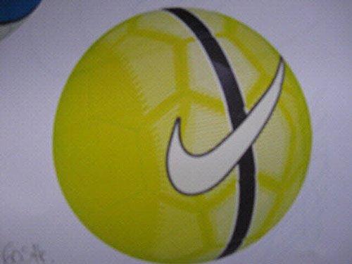 Pallone Nike Mercurial Fade Giallo [Taglio 5]