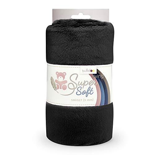 kullaloo Supersoft SNUGLY SB-Pack Plüschstoff, Minky, (schwarz)