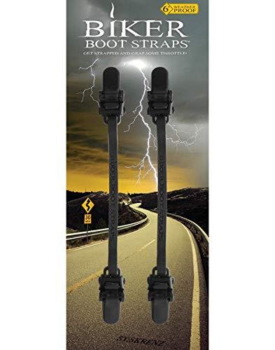 Base Boot Straps 4' Black
