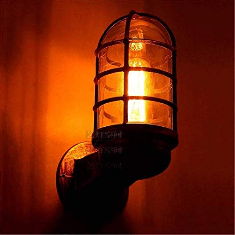 Wandleuchte Kristalllichter Adjustablee Sockel Rustic Draht Metall-Kfig Retro Sconces Innen HomeLightsing Fixture Einzel -Base Gemalt mit modernem schwarzem Leuchter Lightings