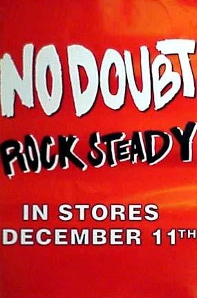NO Doubt - Rock Steady poster. The poster is not sold by NO Doubt