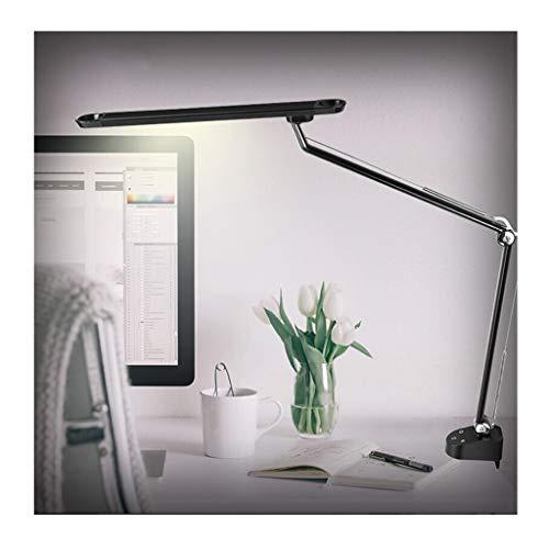 Lampe de bureau Bureau Adultes Oeil Soins Étude réglable Lecture Lampes Étudiant Écriture Dimmable LED Lampes de Table Gradation Continue