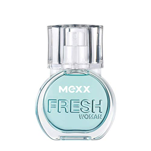 Mexx Fresh Woman – Eau de Toilette Natural Spray – Frisches Damen Parfüm mit fruchtigen Nuancen – 1 er Pack (1 x 15ml)