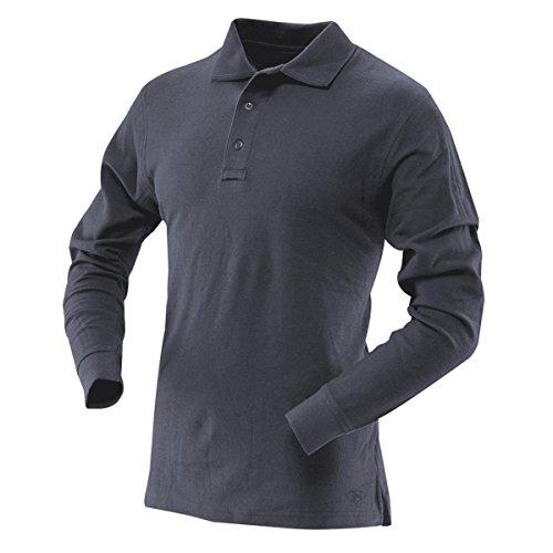 Tru-Spec 24-7 Polo à Manches Longues pour Homme Bleu Marine Taille L