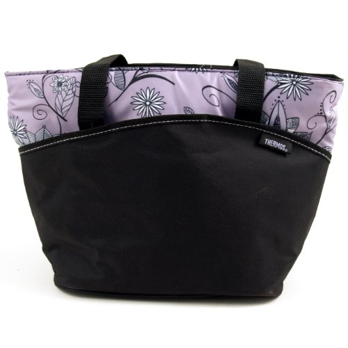 Thermos Raya IsoTec Purple Insulated Lunch Tote