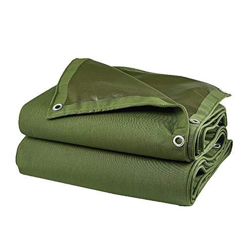 LXLIGHTS Bache Impermeable Bâche De Tente, Tissu Imperméable Camping/Horticulture Bâche De Camion De Linoléum, Polyester Epaisseur 0.8MM 700g \ M2 (Couleur : Green, Taille : 200 * 150cm)