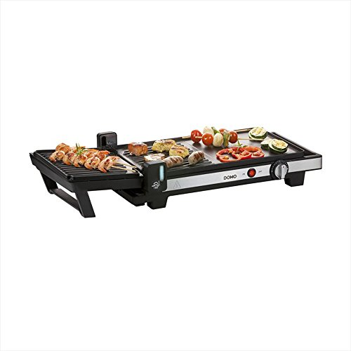 Domo do9238g 2en 1Barbecue gril de table, plaque...