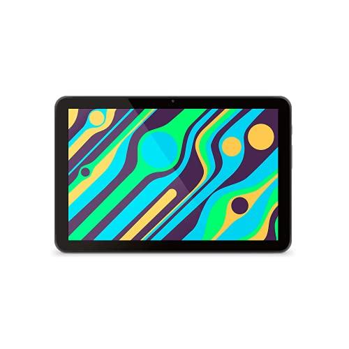 SPC Gravity SE - Pantalla IPS 10.1'', 2GB RAM y 32GB ROM, WiFi 4, Bluetooth 4.2, Android 11 Go Edition Color Negra