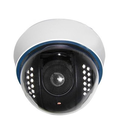 Best Price Home & Security Cameras Use 1/3 Color 600TVL Dome CCD Camera, IR Distance: 15m (SKU : S-s...