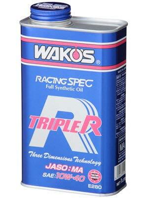 WAKOS トリプルアール TR 1L Full Synthetic(3D) レーシングスペックエンジンオイル 20W-60