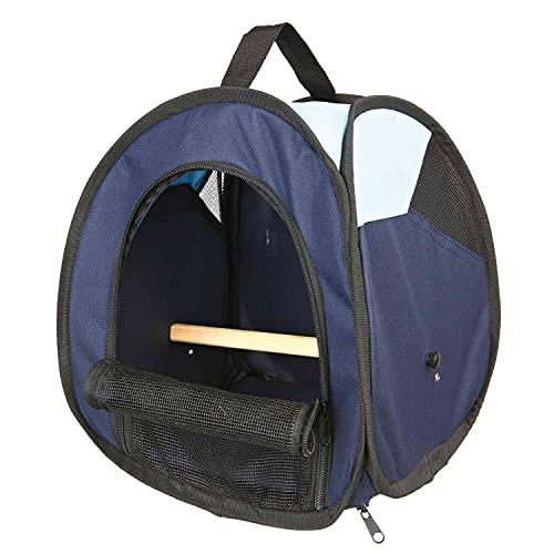 Trixie Bolsa de Transporte, Color Azul Oscuro/Azul Claro