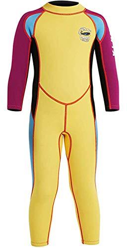 Little Kids Boys Girls One Piece Neoprene Wetsuit Swimsuit Swimwear Diving Suits S