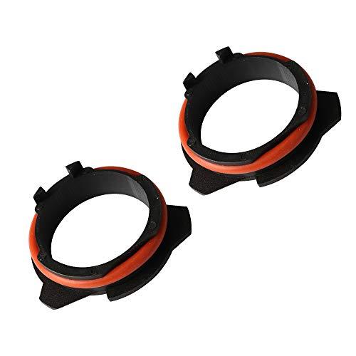 XENPLUS H7 LED Faros Bombillas Adaptadores Soportes Retenedores,Adaptador Bombilla H7 LED Para BM-W 5 Series,Z series,2 Piezas