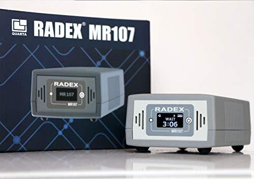RADEX MR107 Detector de gas radón avanzado para hogares