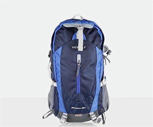 sac à dos randonnée Les nouveaux sports de plein air hommes et les femmes sac décontracté Voyage sac à dos d'alpinisme professionnel Sacs à dos de randonnée ( Couleur : Royal Blue , taille : 38L )