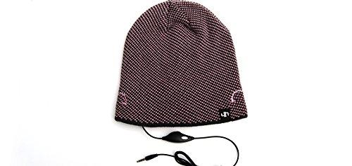 Hi-Fun Hi-Head Berrettino con speaker integrato - Pink/Light Gray