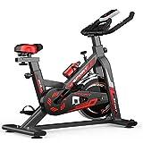 GOLDEN MANGO Indoor Cycling Spinning Bike, Heimfitnessgeräte, Einstellbarer Flüsterleises Heimtrainer, Aerobic-Übung