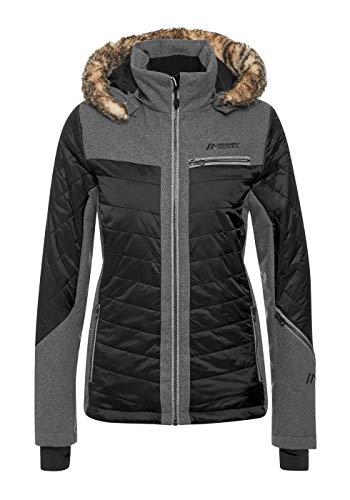 Maier Sports Damen Loveland Skijacke Winterjacke Damenjacke Black (46)