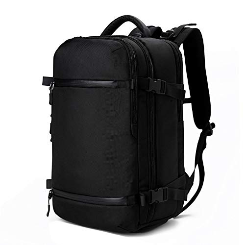 Laptop Bag Backpack 20 Inch Large Capacity Men Travel Pack Bag Male Luggage Backpack Usb Multifunctional Waterproof Laptop Back Pack Women Big 17Inches Black Free Fast Delivery