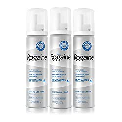 Buy Men's Rogaine 5% Minoxidil Foam for Hair Loss and Hair Regrowth