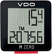 VDO M0 Handlebar Mount with Single Button and easy readability square-shaped display Speed transmission Kabel Automatic start-stop Wired Cycle Computer Bike Speedometer