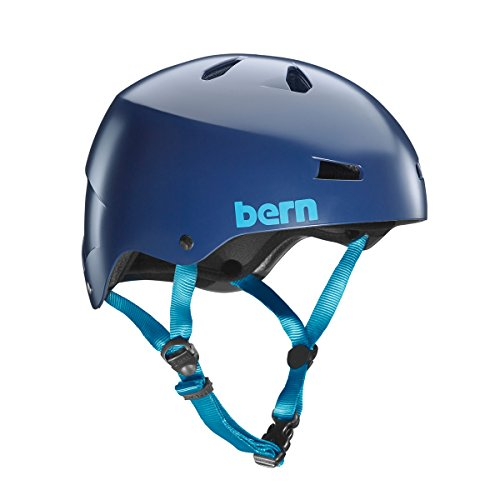 Bern Macon H2O Helm 2019 Satin Navy Blue, XXL