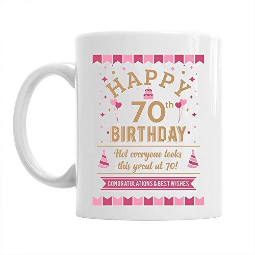 70th Birthday Gift Idea for Women, Still Looking Good at 70, Keepsake Coffee Mug