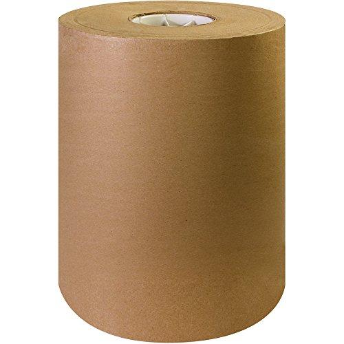 BOX USA BKP1250 Kraft Paper Rolls, 50#, 12