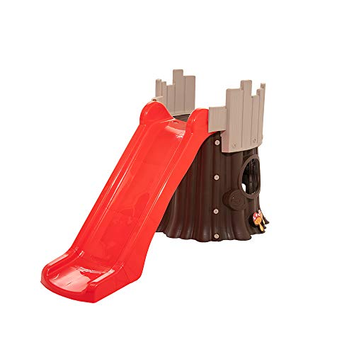 Starplay Treehouse Slide, Brown/Red/Grey